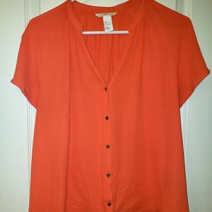 H&M Loose Fitting  Blouse, Size 6